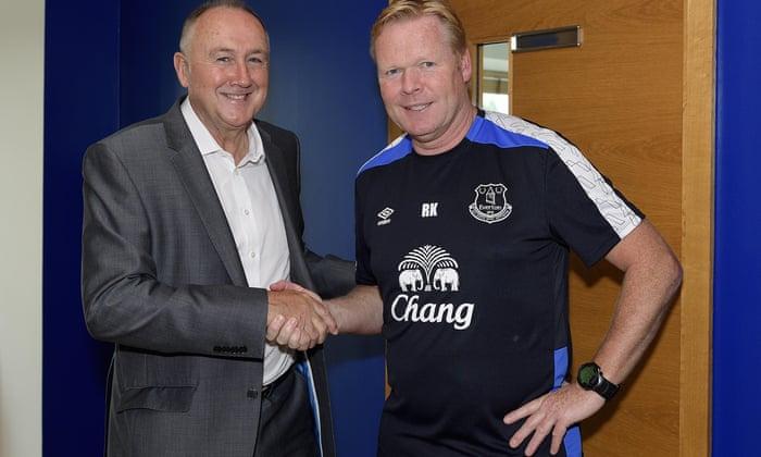 Ronald Koeman: Steve Walsh az Everton-t hozta létre az átviteli ablakhoz